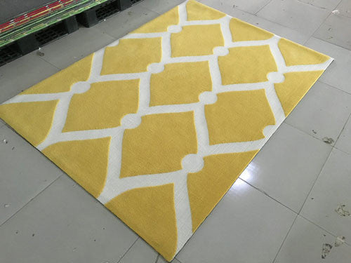SL4002 Yellow Area Rug - Rug Tycoon