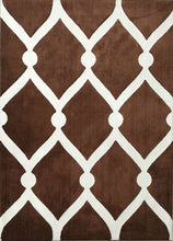 SL4002 Brown Area Rug