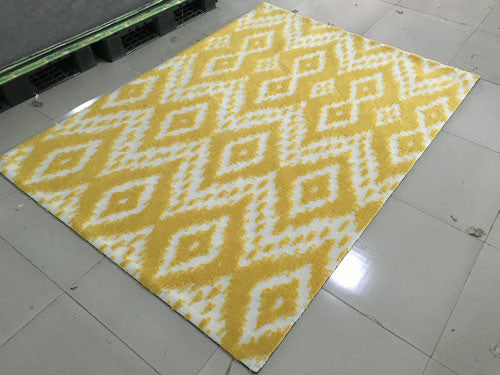 SL4003 Yellow Area Rug - Rug Tycoon
