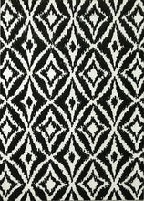 SL4004 Black Area Rug