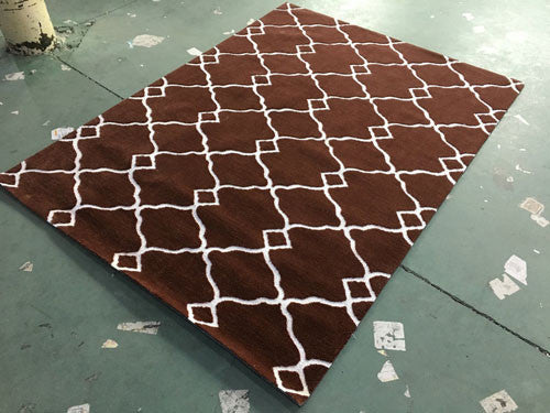 SL4005 Brown Area Rug - Rug Tycoon