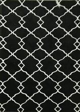 SL4005 Black Area Rug