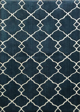 SL4005 Navy Blue Blue Area Rug