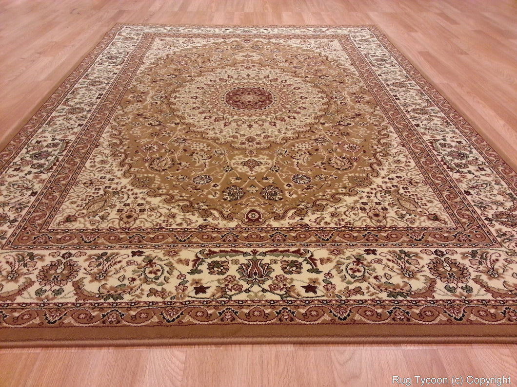 T02 Gold Area Rug - Rug Tycoon