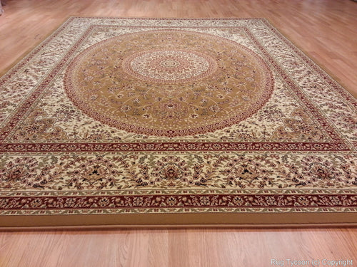 T03 Gold Area Rug - Rug Tycoon