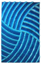 TD166 Turquoise Area Rug