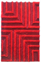 TD554 Red Area Rug