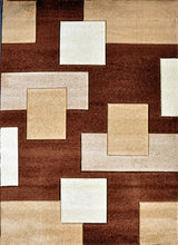 V1002 Brown Area Rug