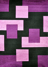 V1002 Purple Area Rug