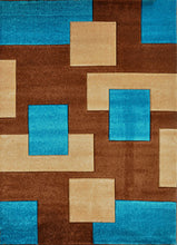 V1002 Turquoise Area Rug