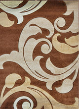 V1003 Brown Area Rug