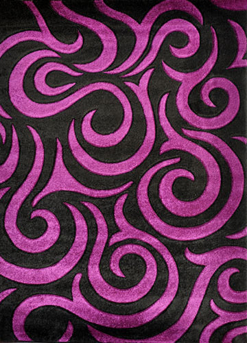 V1004 Purple Area Rug