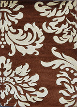 V1007 Brown Area Rug