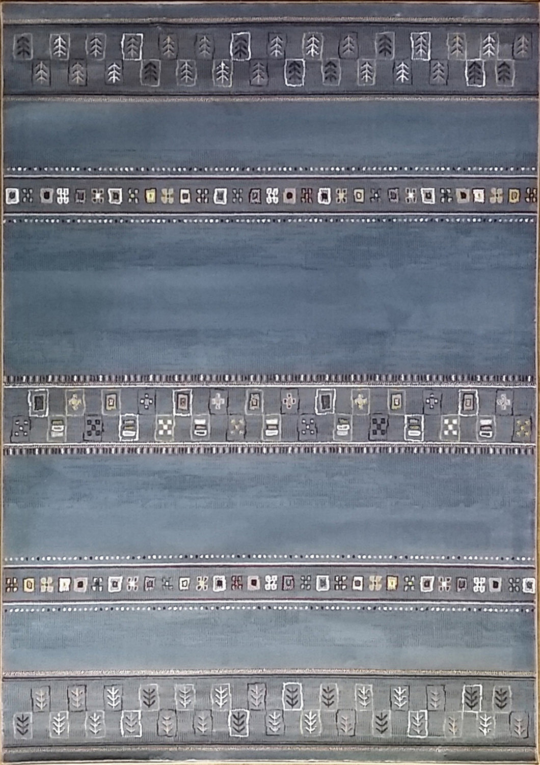 Keunta Light Blue Area Rug