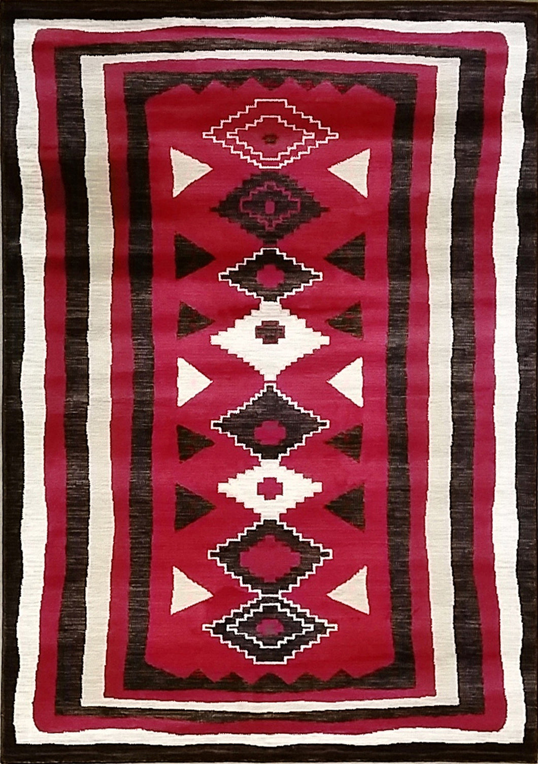 Shuntae Red Area Rug