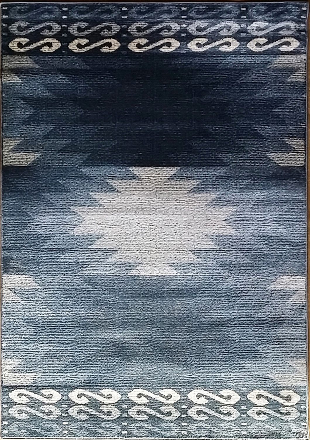 La Junta Blue Area Rug