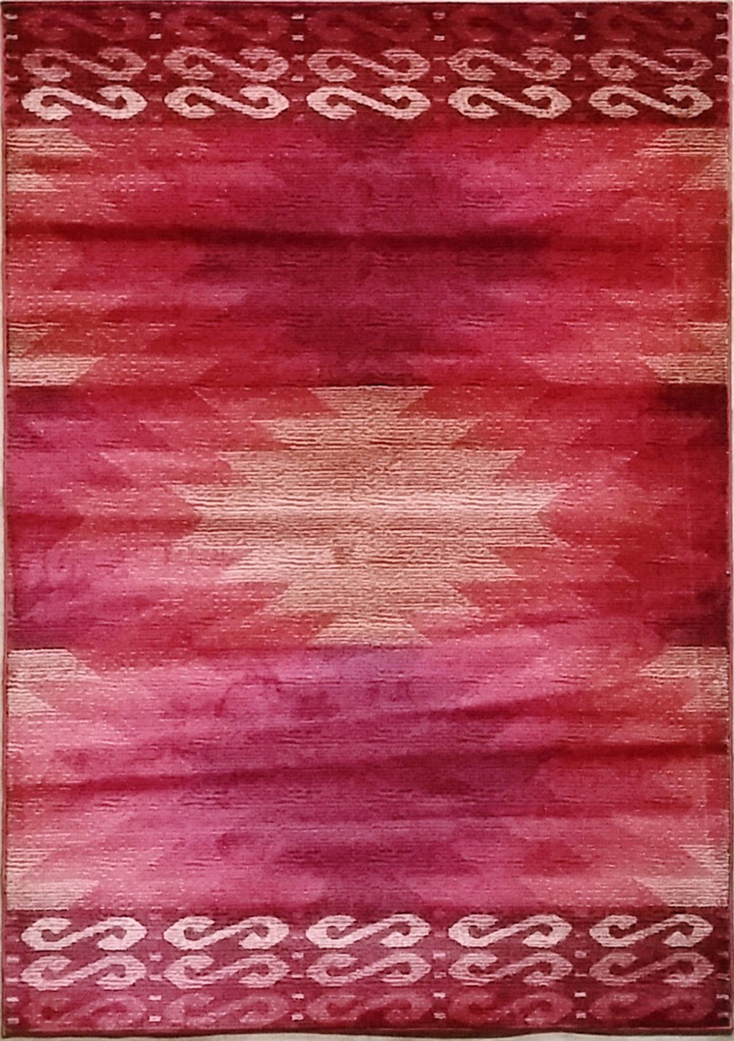La Junta Red Area Rug