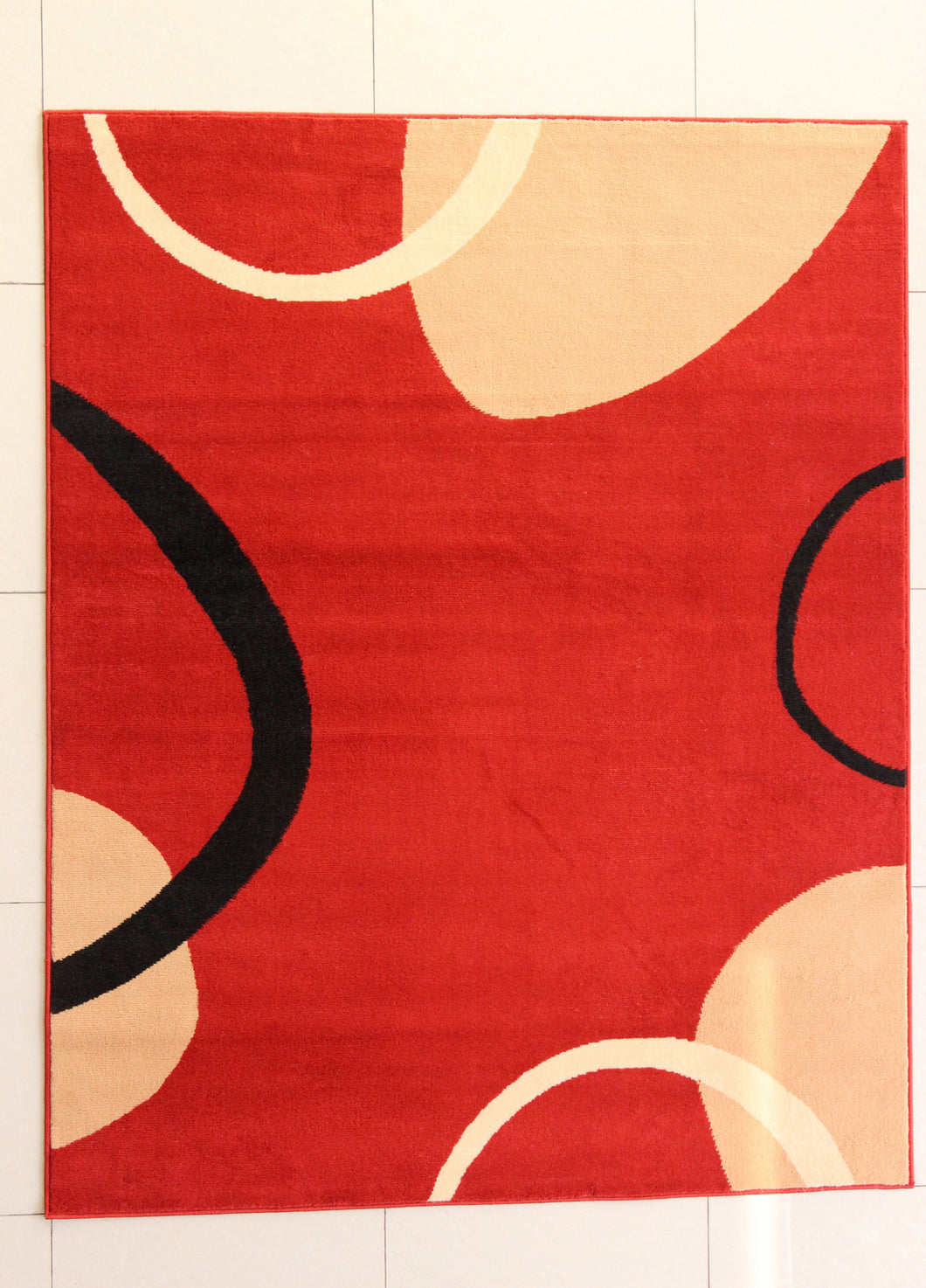 Adilet Rectangle Orange Area Rug - Rug Tycoon