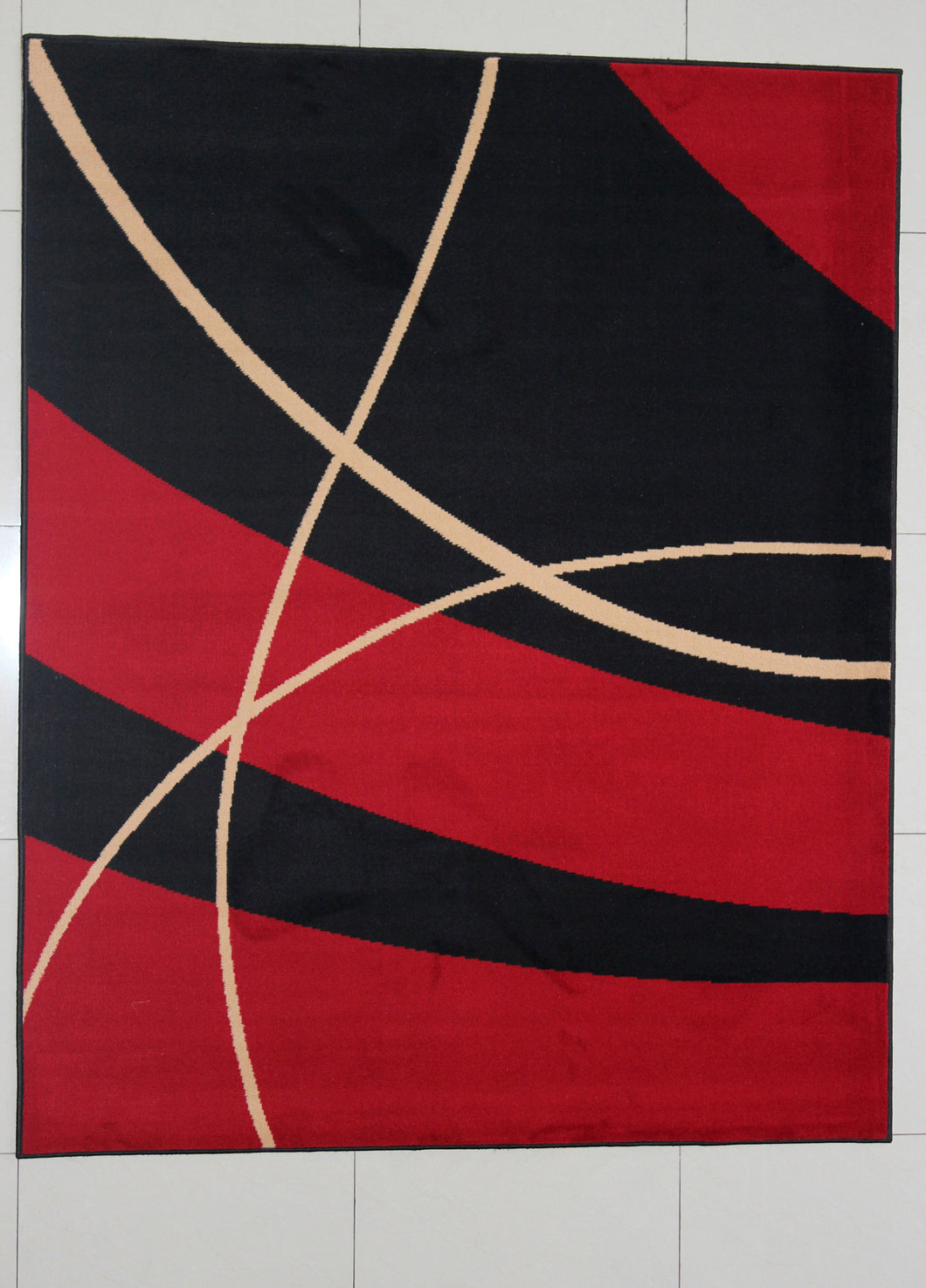 Padminie Black Area Rug