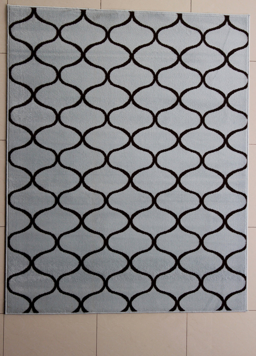 Haywood Black Area Rug