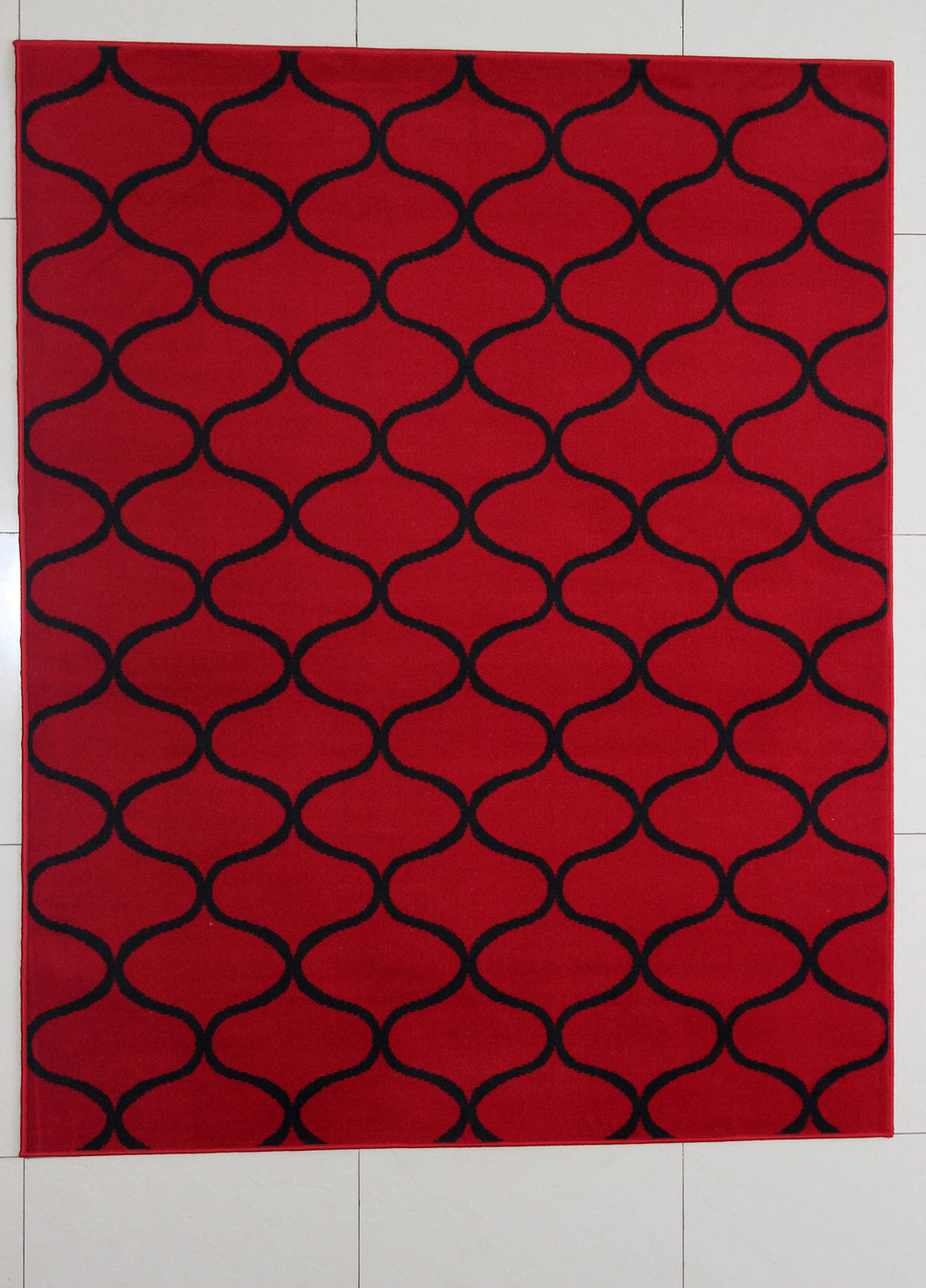 Hardison Red Area Rug