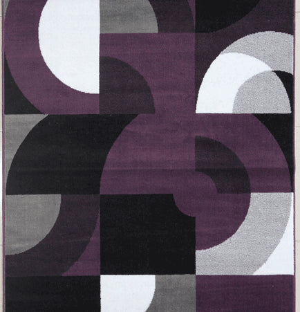 Gene Purple Area Rug