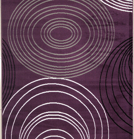 Nogales Purple Area Rug