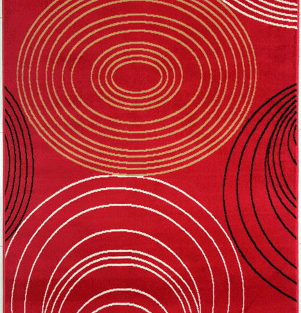 Joseluis Red Area Rug