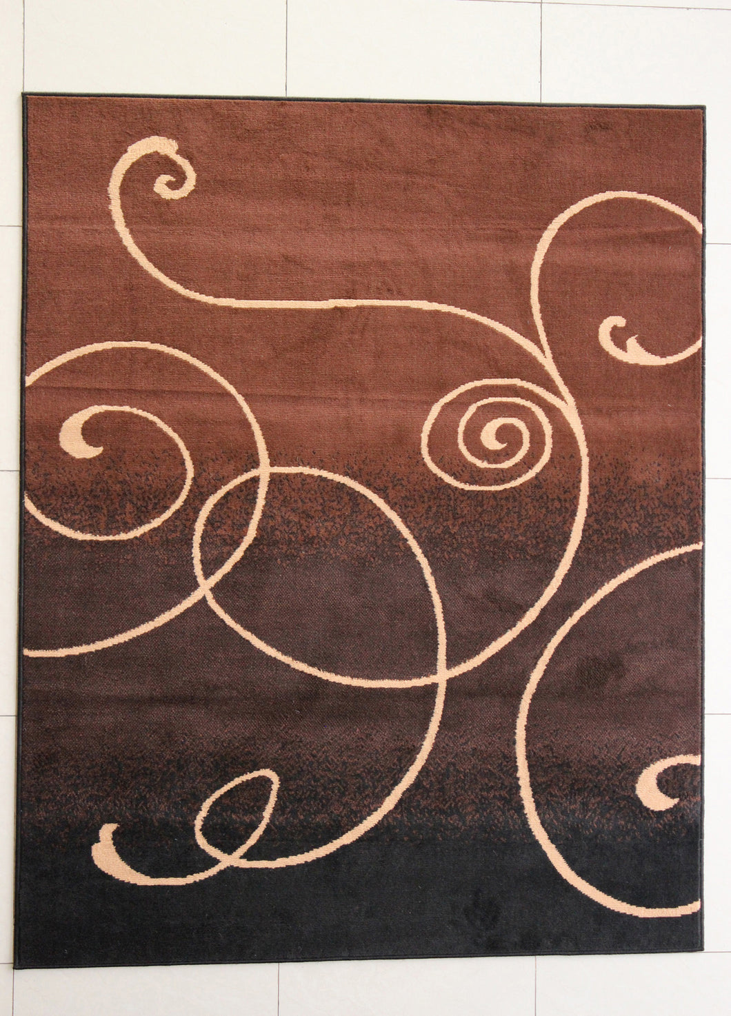Haston Black Area Rug