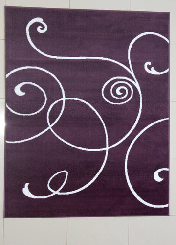 Markel Purple Area Rug