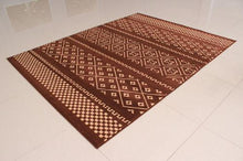 W1510 Brown Area Rug