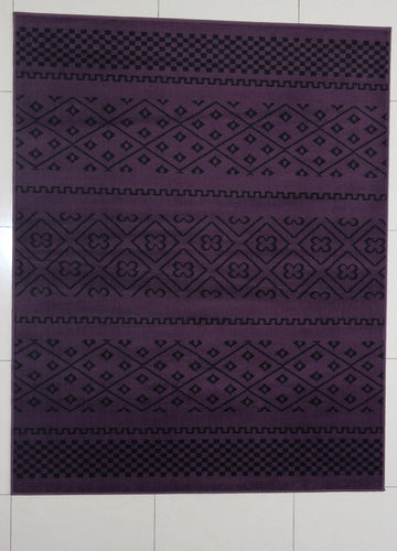 Pontus Purple Area Rug