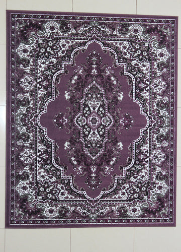 Dunstan Purple Area Rug