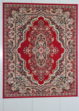 W1513 Red Area Rug