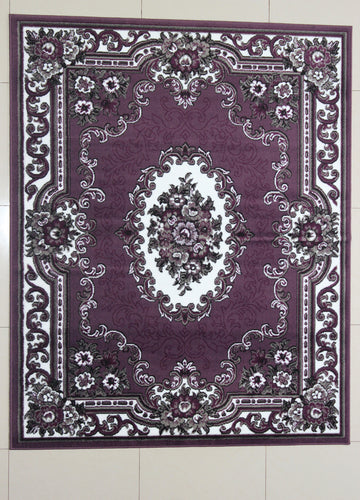 Neumann Purple Area Rug
