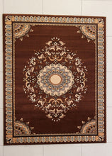W1515 Brown Area Rug