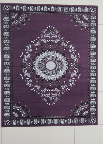 Cynthia Purple Area Rug
