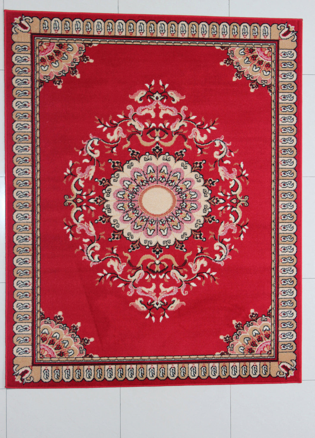 Pinehill Red Area Rug