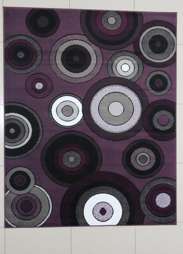 Juarez Purple Area Rug