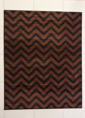 Eusebio Black Area Rug