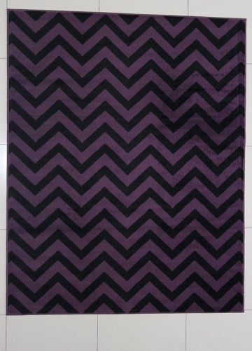 Gabaldon Purple/Black Area Rug