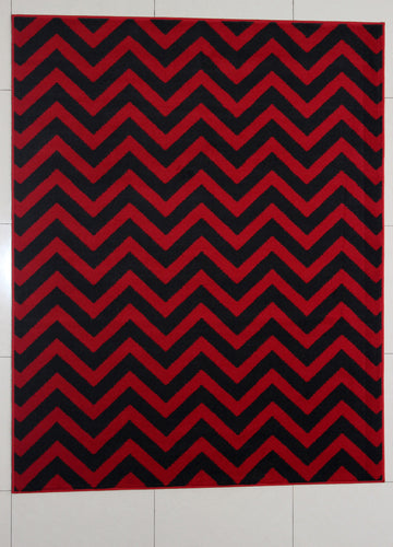 Nelissen Red Area Rug