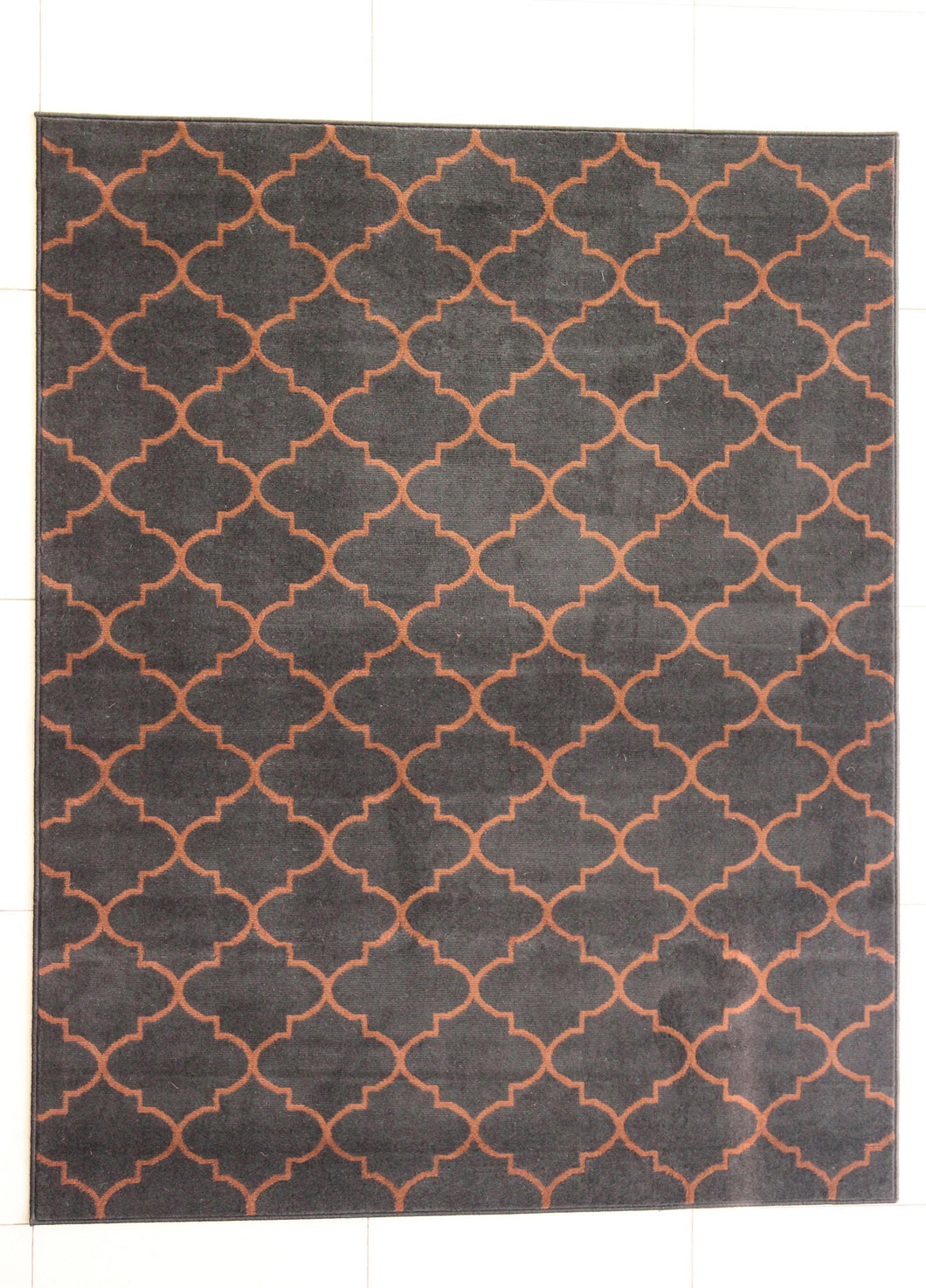 Harvel Black Area Rug