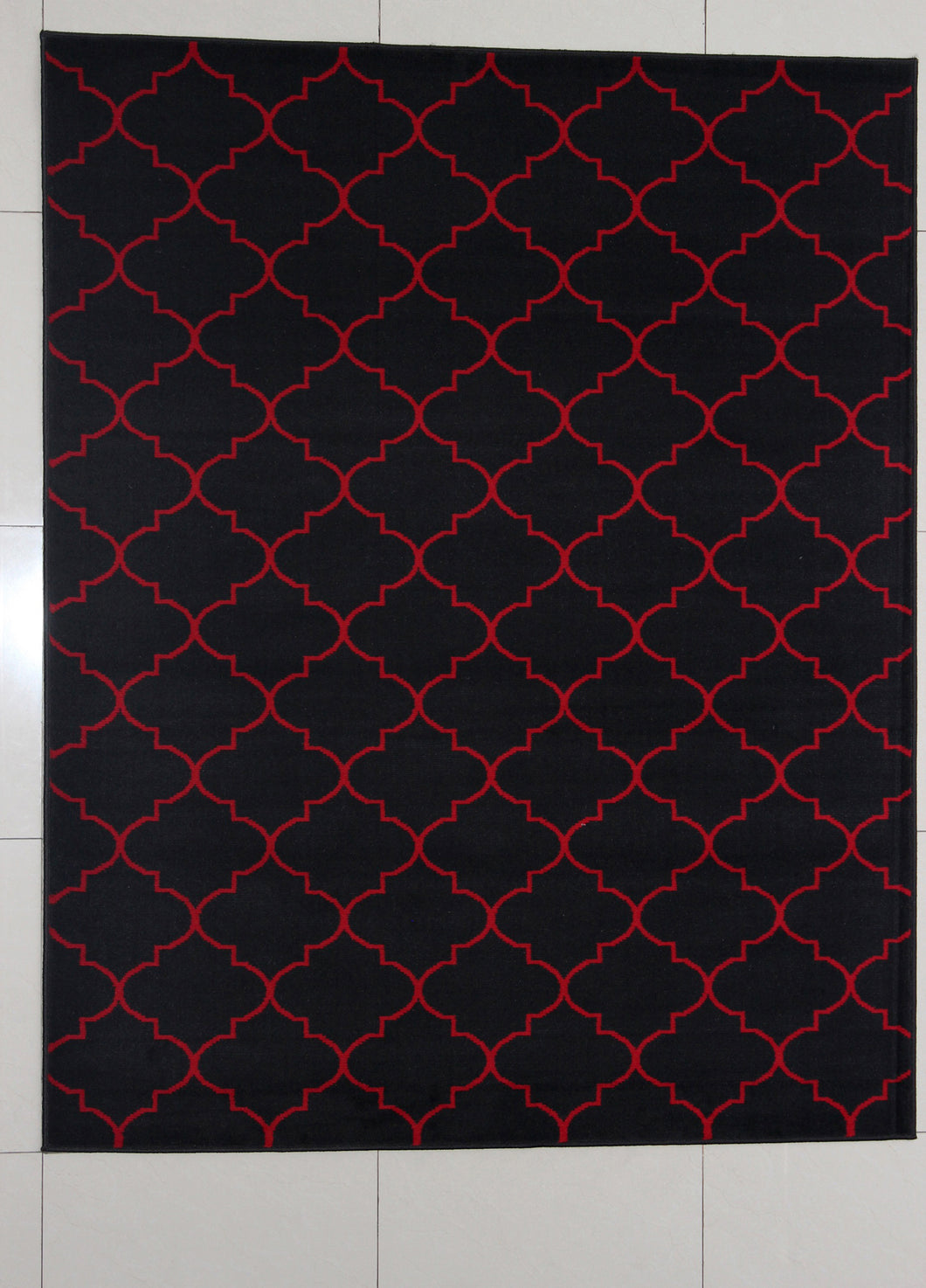 Hausmann Black Area Rug