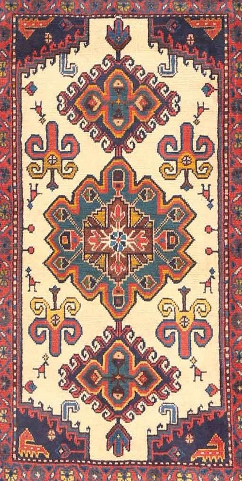 Traditional 4372 Area Rug, 2'0