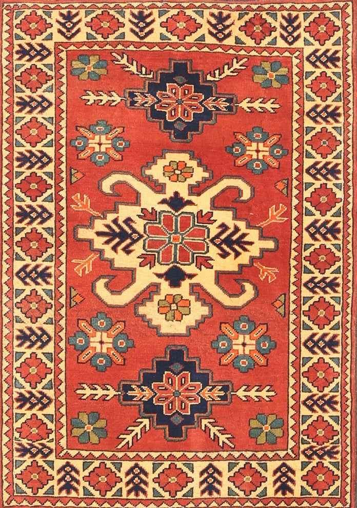 Traditional 458 Area Rug, 5'0