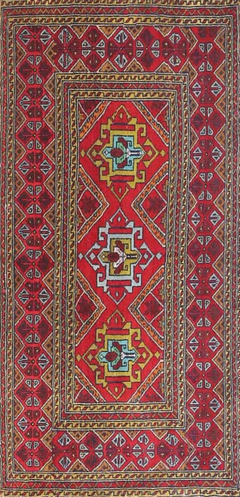 Traditional 4561 Area Rug, 2'0