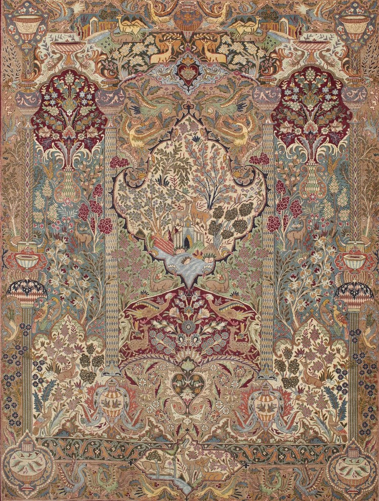 Traditional 68 Area Rug, 5'0