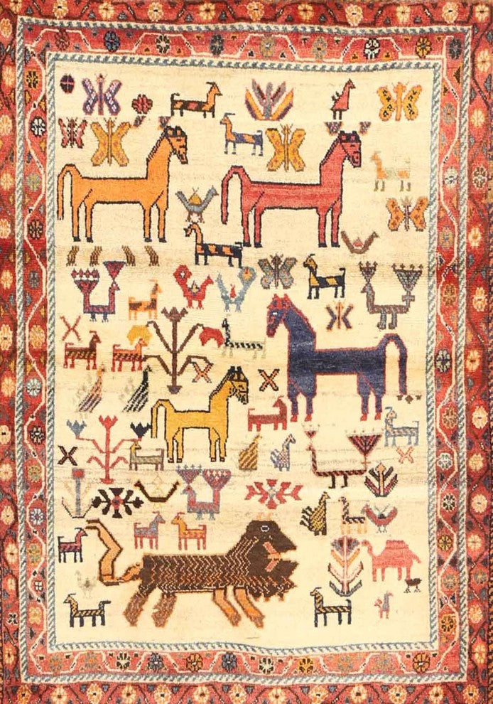 Traditional 3965 Area Rug, 2'0