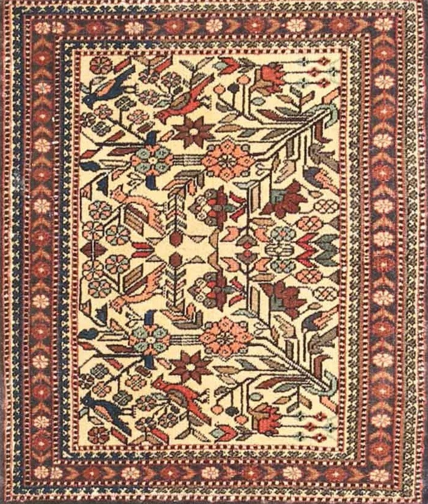 Traditional 4571 Area Rug, 2'0